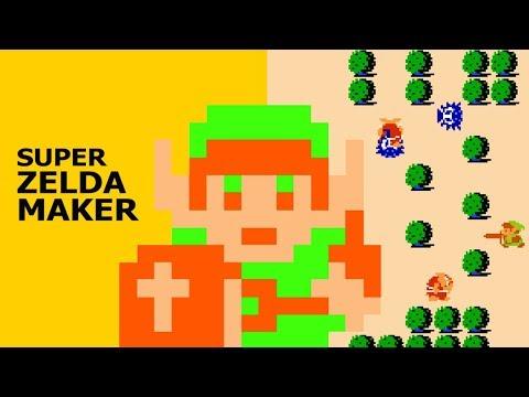 Super Zelda Maker (видео)