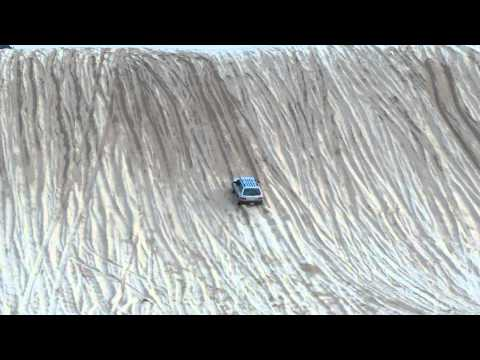 Subaru takes on a hill climb