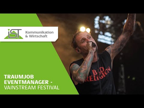 Traumjob Eventmanager - Hinter den Kulissen des Vainstream-Festivals