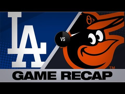 Video: 8 Dodgers combine to 2-hit the Orioles | Dodgers-Orioles Game Highlights 9/12/19