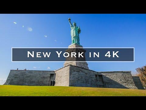 A linda cidade de New York num belíssimo vídeo 4k