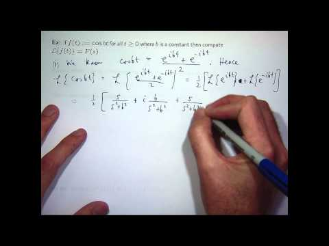 transforms - Free ebook http://tinyurl.com/EngMathYT A basic introduction to the Laplace transform. We define it and show how to calculate Laplace transforms from the def...