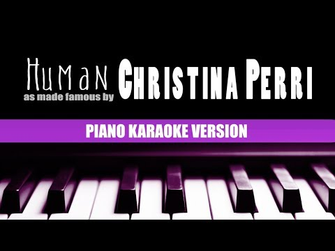 Karaoke Human (Piano Version) By Christina Perri