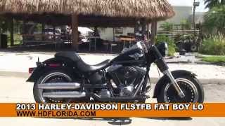 2. 2013 Harley Davidson Fat Boy Lo  - Used Motorcycles for sale