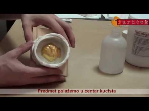 Juriček obrt - izrada silikonskog kalupa - Ekstrasil RTV-2 silikon