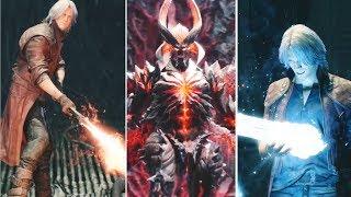 Video Dante Reactions to New Weapons 2001-2019  DMC1-DMC5 | Devil May Cry 5 MP3, 3GP, MP4, WEBM, AVI, FLV Maret 2019