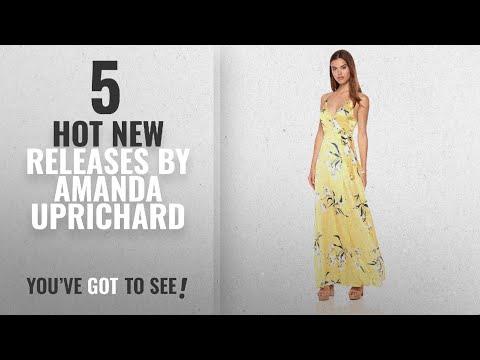 Hot New Amanda Uprichard Women Clothing [2018]: Amanda Uprichard Women's Mccanna Gown, Honysuckle, L