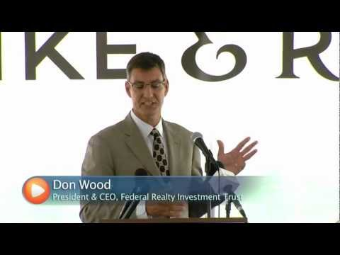myMCMedia - Don Wood, Chief Executive of Federal Realty Investment Trust, talks about the advantages of doing business in Montgomery County, MD. Specifically the benefit...
