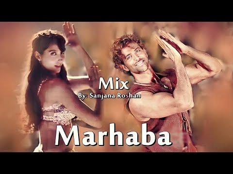 Hrithik Roshan and Nora Fatehi - VM   Marhaba Marhaba - Mix   Sonu Nigam