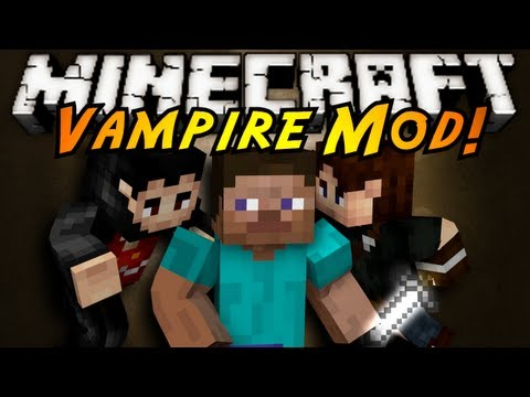 Minecraft Mod Showcase : VAMPIRES!