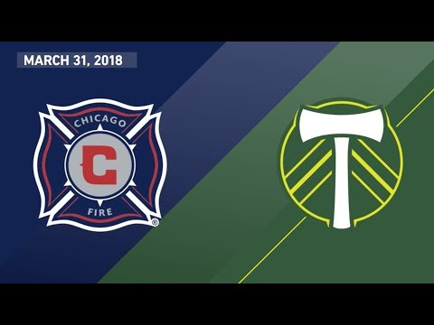 Match Highlights | Chicago Fire vs. Portland Timbers | March 31, 2018
