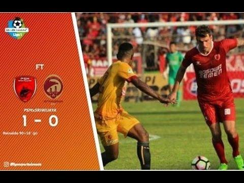 PSM Makassar vs Sriwijaya FC all goals (1-0) 21 MEI 2017 | GOJEK TRAVELOKA LIGA 1