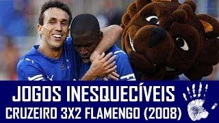 Cruzeiro e Flamengo protagonizaram um jogaço no Mineirão pelo Campeonato Brasileiro de 2008. Fernandinho abriu o placar,...