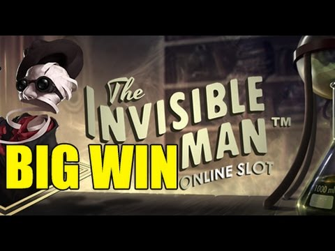 Online slots HUGE WIN 14 euro bet - Invisible Man BIG WIN epic reactions