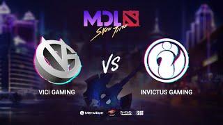 Vici Gaming vs Invictus Gaming, MDL Macau 2019, bo1, [Lex]