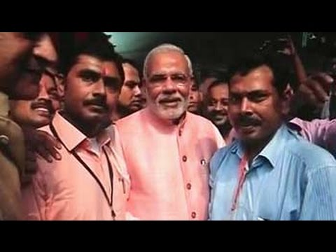 Prime - Prime Minister Narendra Modi today surprised many when he decided to wield the camera at a formal interaction with journalists in the national capital, his first since coming to power in May....