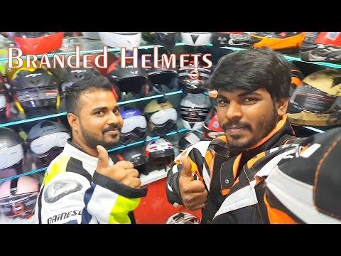 Branded Helmets Showroom | Motorcycle Riding Gear | Jacket, Gloves & knee pad etc