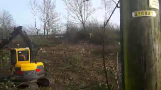 Motorway embankment clearance
