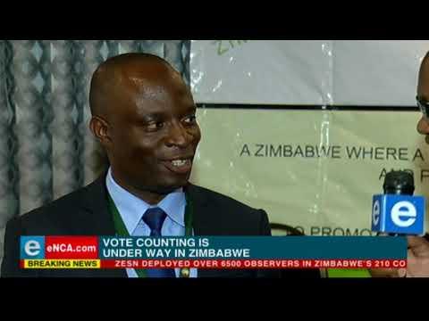#ZimElections2018 - ZESN spokesperson speaks to eNCA