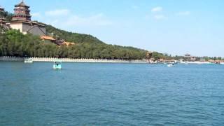 Views of the Summer Palace 頤和園 lake, BeiJing