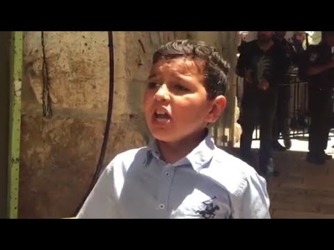 Video Kudüslü çocuk Yahudilere haykırdı! download in MP3, 3GP, MP4, WEBM, AVI, FLV January 2017