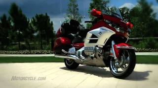 4. 2012 Honda Gold Wing Review - The supreme luxury-tourer isn't yet ready for retirement