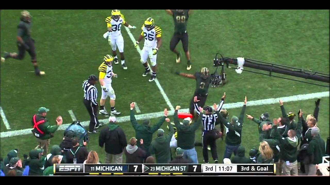 Kirk Cousins vs Michigan (2011)