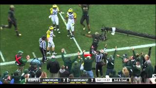 Kirk Cousins vs Michigan  (2011)