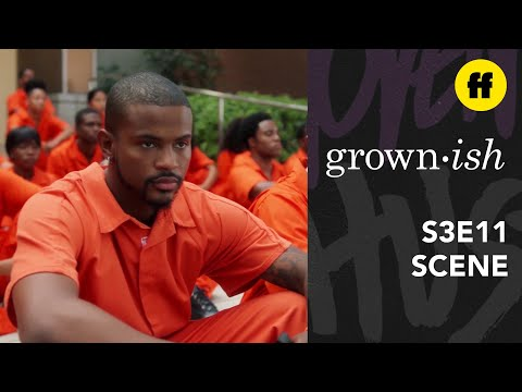 grown-ish Season 3, Episode 11 | Aaron Leads the Students in Protest | Freeform