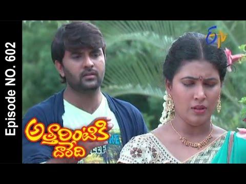 Attarintiki Daredi |11th October 2016 | Full Episode No 602 |ETV Telugu