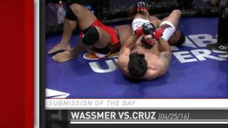 Submission of the Day: Henrich Wassmer armbars Ramos Cruz at Combate SEIS by Fight Network