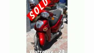 1. 2005 KYMCO People 150 - Specs & Specification