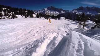 Chamonix Mont Blanc France  city photos : Snowboarding. Chamonix, Mont Blanc 2015. GoPro 3+