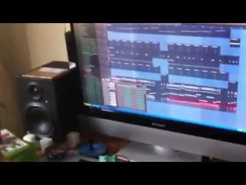 Chuch Beatz& Kiddnapp on da Beat first collab--ghetto man p
