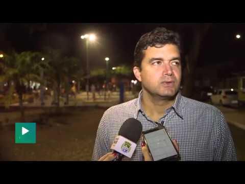 Rui Palmeira entrega praça revitalizada no Santo Eduardo