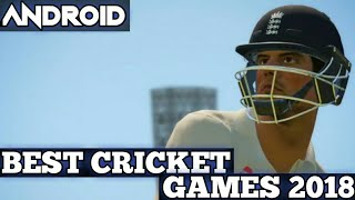 Video TOP 5 BEST CRICKET GAMES OF 2018 FOR ANDROID DEVICES WITH HUGE GRAPHICS | CRICKET GAMES 2018 ANDROID MP3, 3GP, MP4, WEBM, AVI, FLV Mei 2018
