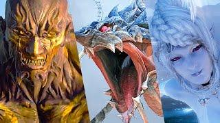Video Final Fantasy XV All Summons Cutscenes Fights MP3, 3GP, MP4, WEBM, AVI, FLV Februari 2019
