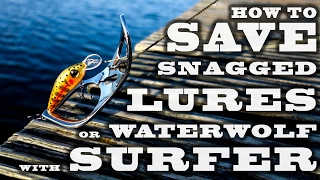 Video How to save snagged lures or WaterWolf camera with surFer. MP3, 3GP, MP4, WEBM, AVI, FLV Agustus 2018