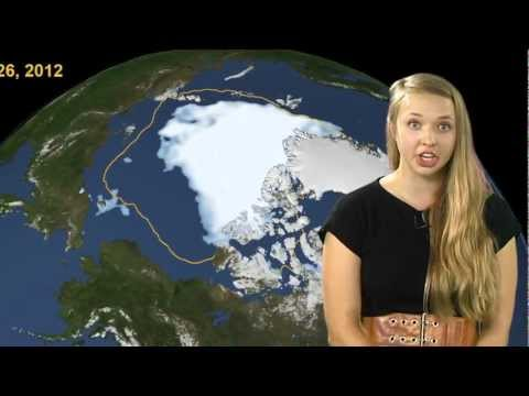 Weather - Arctic ice cover just reached its lowest point in recorded history. Pippa goes off script and drops some science. For more, check out http://www.deeprogueram...