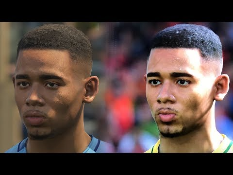 PES 2018 vs PES 2017 Face Comparison HD