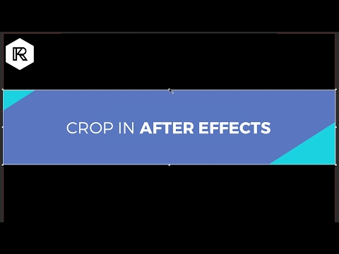 How To Crop In After Effects | RocketStock.com
