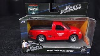 Nonton Brian's Ford F-150 SVT Lightning - Jada Toys Fast & Furious - 1:32 Model Toy Car Unboxing Film Subtitle Indonesia Streaming Movie Download