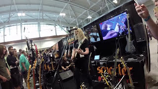 Summer NAMM 2014 - Jeff Loomis Performs 'Conquering Dystopia' Songs | GEAR GODS