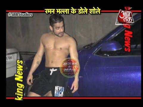 Karan Patel SHIRTLESS In Mumbai Rains!