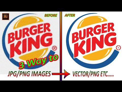3 Wat To Convert JPG To Vector || Auto Image Trace || Adobe Illustrator