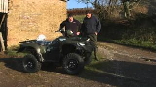 6. A Farmers Diary- a year with the Suzuki KingQuad 500.