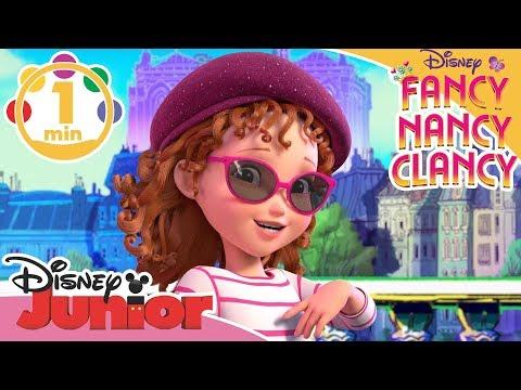 Fancy Nancy Clancy | Musikk: J'adore Paris 🇫🇷- Disney Junior Norge