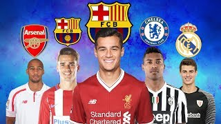 Video LATEST TRANSFER NEWS 2018 | COUTINHO TO BARCELONA, GRIEZMANN TO BARCELONA, ALEX SANDRO TO CHELSEA MP3, 3GP, MP4, WEBM, AVI, FLV Desember 2018