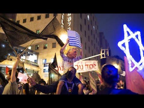Ισραήλ: Διαδηλωτές κατά Νετανιάχου