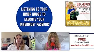 Episode #75 : Listening to your inner nudge to execute your innermost passions with guest Autumn Shi